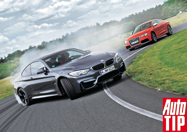 BMW M4 Coupé vs. Audi RS5: Kouření povoleno
