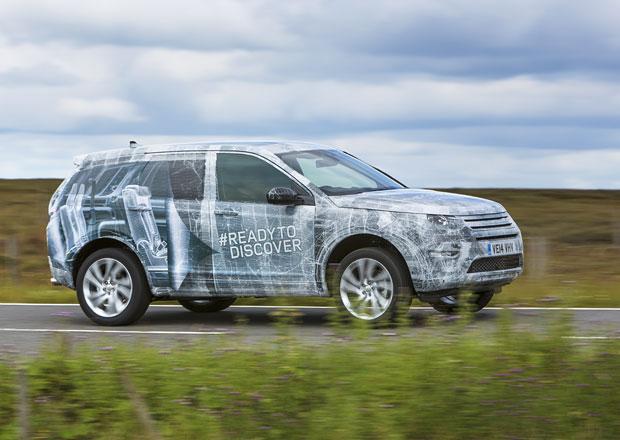 Land Rover Discovery Sport: Nástupce Freelanderu na prvních fotografiích