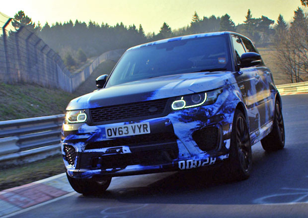 Range Rover Sport SVR je nejrychlejší SUV na Severní smyčce