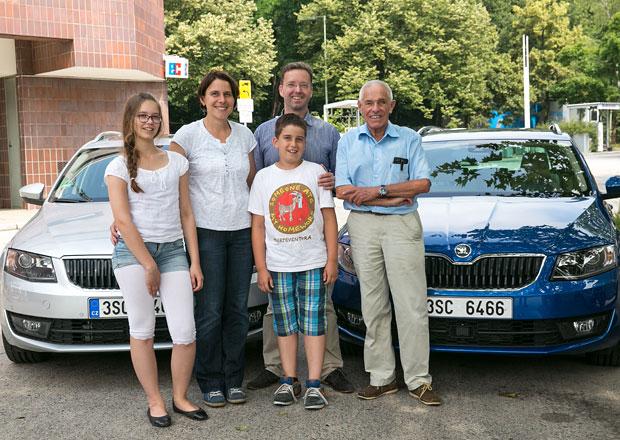 Plynová Škoda Octavia G-Tec dojela z Německa do Itálie za méně než 1.000 Kč