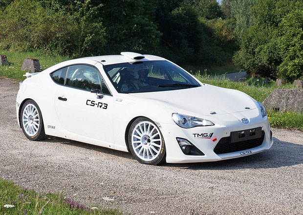 Toyota GT86 CS-R3 míří do světa rallye