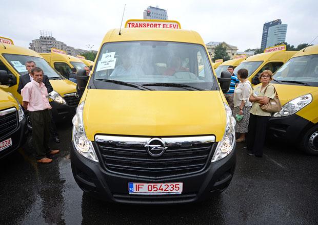 Opel Movano: 600 školních autobusů pro Rumunsko