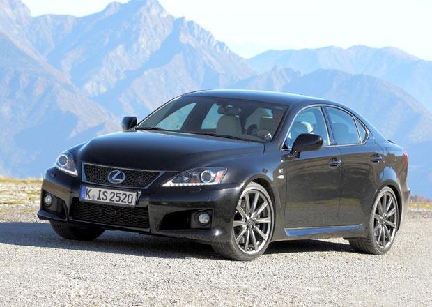 Lexus IS-F se přestal vyrábět, prodalo se 11.000 kusů