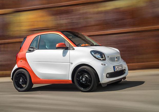 Nové Smarty ForTwo a ForFour znají své německé ceny