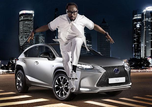 Hudebník will.i.am je součástí nové kampaně pro Lexus NX