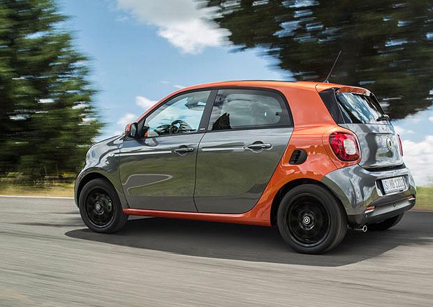 Smart ForFour: Počítá se s kabrioletem i elektrickou verzí