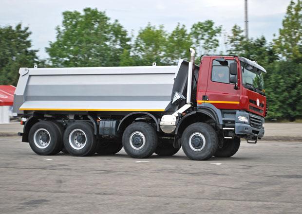 Tatra u� letos prodala 450 vozidel, pl�nuje miliardov� tr�by