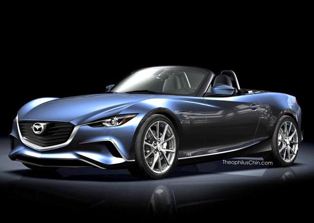 Nov� Mazda MX-5 nebude podobn� ��dn�mu z p�edch�dc�