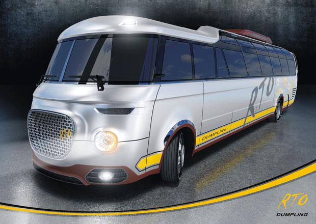 Škoda RTO 707 Dumpling: Moderní interpretace autobusové klasiky