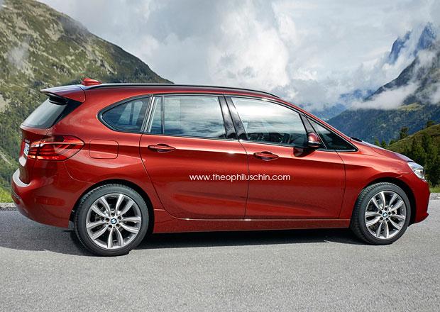 BMW 2 Active Tourer: Vize chystan� prodlou�en� verze