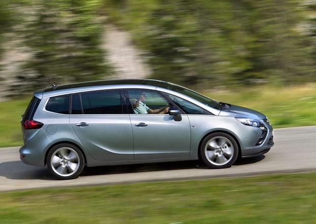 Opel Zafira Tourer: S motorem 1.6 CDTi 88 kW stojí od 494.900 Kč