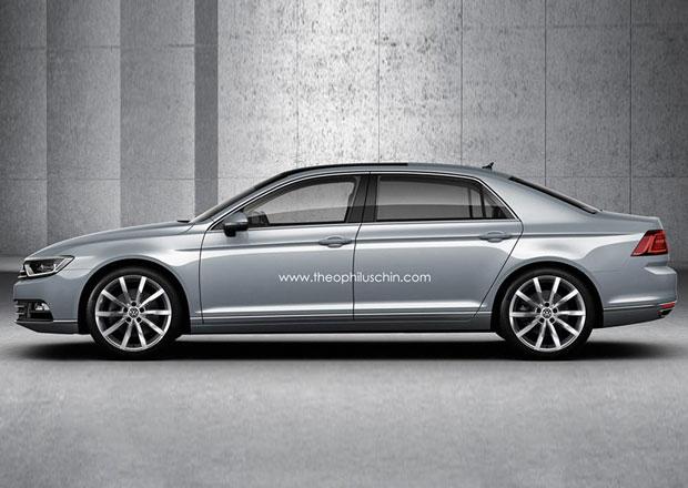 Volkswagen Phaeton nové generace: Mohl by takto vypadat?