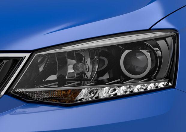 Škoda Fabia III se postupně odhaluje, tohle je její světlomet