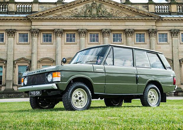První vyrobený sériový Range Rover míří do dražby