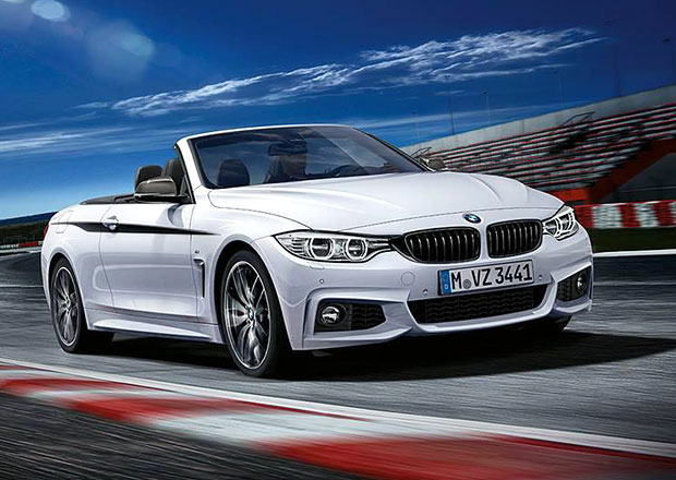 BMW 4 Cabrio dostalo p��slu�enstv� od M Performance Parts