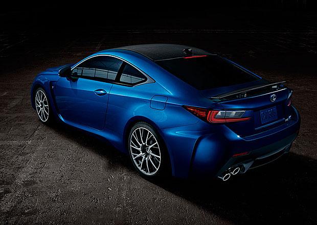 Lexus už přijímá objednávky na sportovní kupé RC F