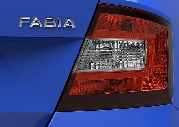 Škoda Fabia III, 7. díl: Zadní svítilna a víko zavazadelníku