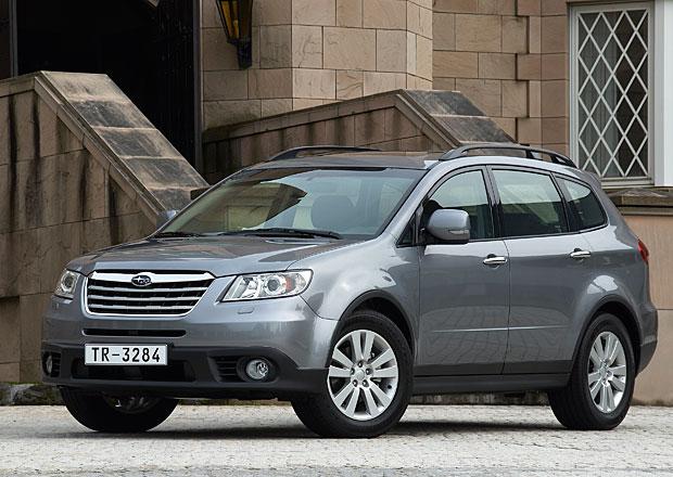 Subaru zva�uje �est r�zn�ch jmen pro nov� sedmim�stn� crossover