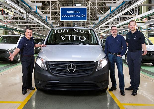 Mercedes-Benz spustil výrobu nového Vita