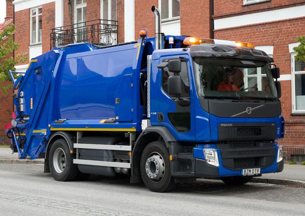 Volvo Trucks představuje model FE CNG
