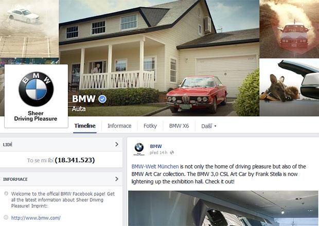 Jak se daří automobilkám na facebooku? Bodují BMW a Mercedes-Benz