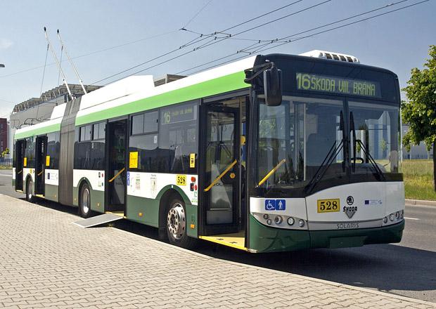 Nové trolejbusy Škoda Electric pro Brno