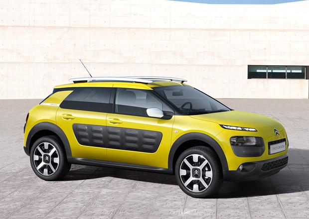 Citroën C4 Cactus: Základ s tříválcem 1,2 l/60 kW od 329.900 Kč