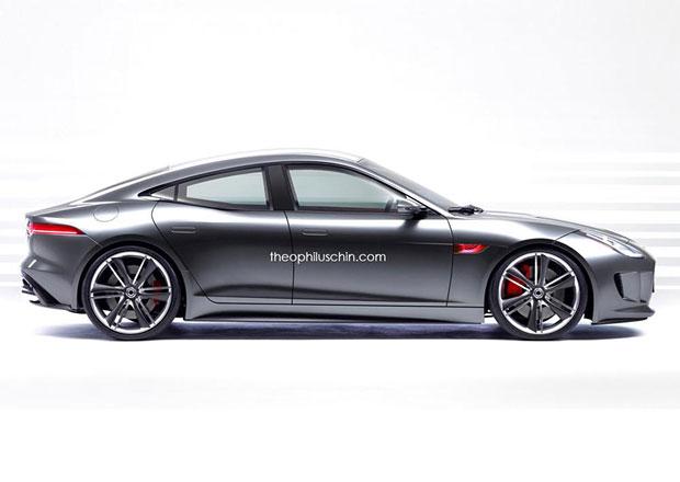 Jaguar F-Type: Jak by mohl vypadat čtyřdveřový model?