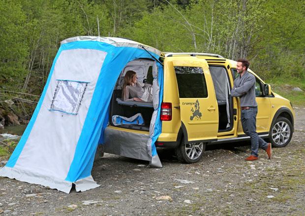 Volkswagen Užitkové vozy na Caravan Salon 2014