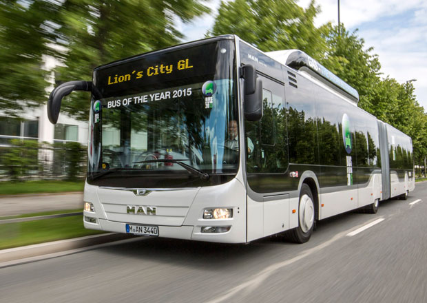 Bus of the Year 2015: MAN Lion's City GL CNG