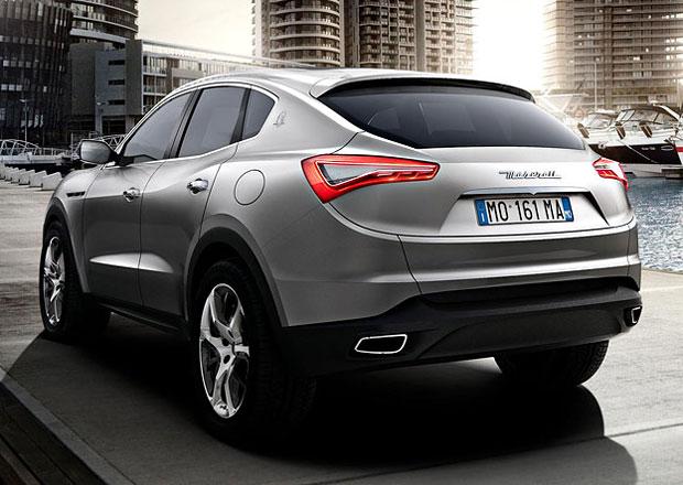 Maserati Levante: SUV italské značky potvrzeno