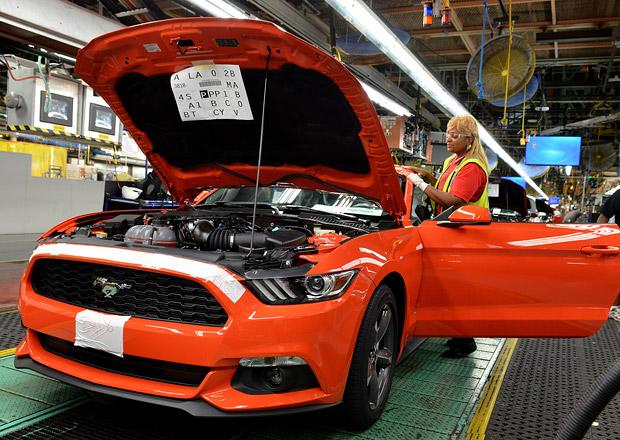 Ford zahájil výrobu nového Mustangu v továrně Flat Rock