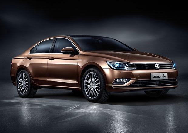 Volkswagen Lamando: Sériové New Midsize Coupé se představuje