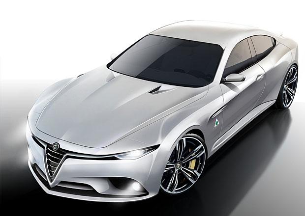 Alfa Romeo Giulia: Další vize nástupce modelu 159