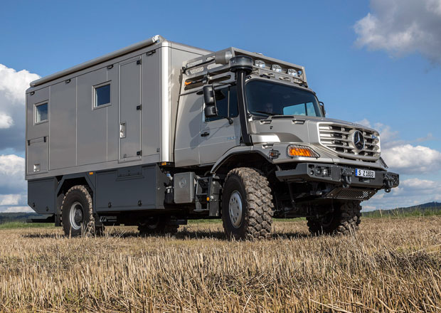 Mercedes-Benz Zetros jako karavan pro dobrodruhy