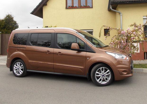 Ford Connect Tourneo a Van: Tichá řeka
