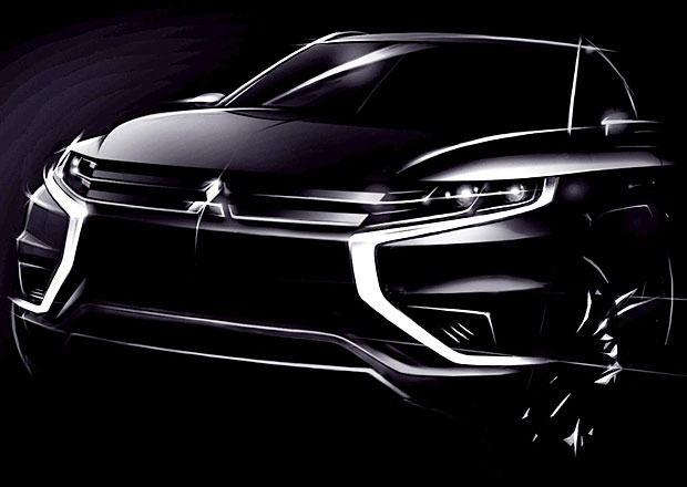 Mitsubishi Outlander PHEV Concept-S: Plug-in hybrid ve sportovním