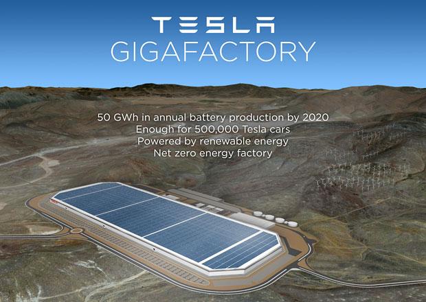 Tesla míří do Nevady