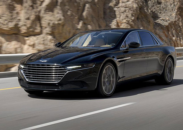 Aston Martin Lagonda: Nové fotografie z Ománu