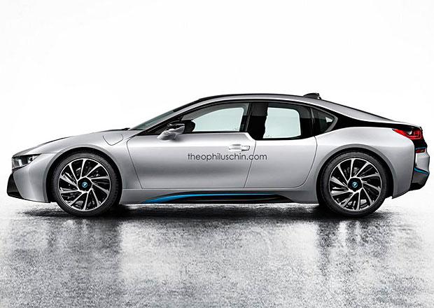 BMW i8L: Vize čtyřdveřového hybridního sporťáku