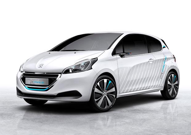 Peugeot 208 Hybrid Air 2L: Koncept pro Paříž