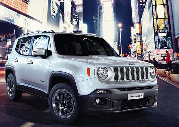 Jeep Renegade se začne prodávat na konci září, nabídne i devítistupňový automat
