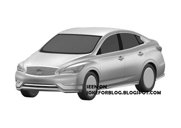 Infiniti LE: Luxusní Nissan Leaf na patentových nákresech