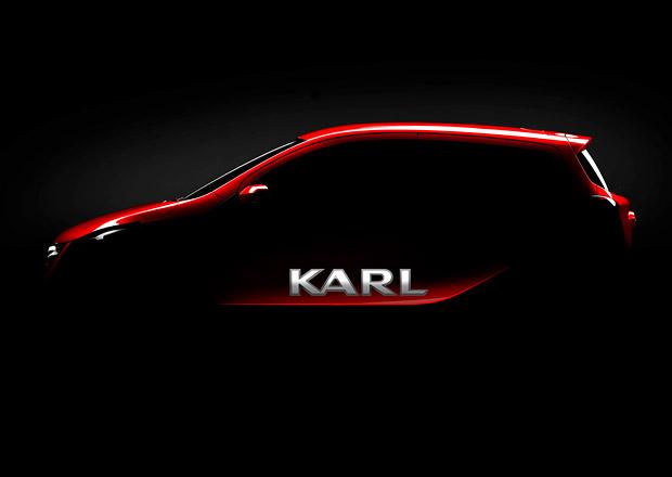 Nový Opel se jmenuje Karl, bude ještě menší než Adam