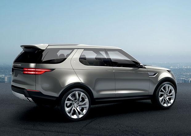 Land Rover Discovery 5 dorazí v roce 2016
