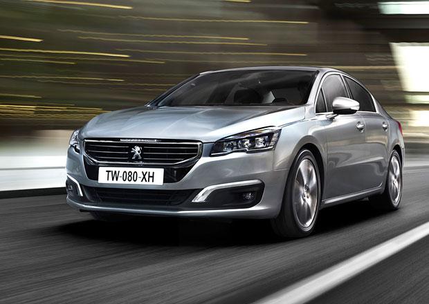 Peugeot 508: S plechovými disky od 594.000 Kč