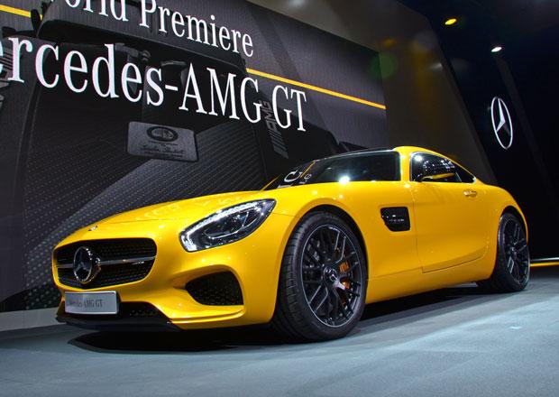 Mercedes-AMG GT: První statické dojmy