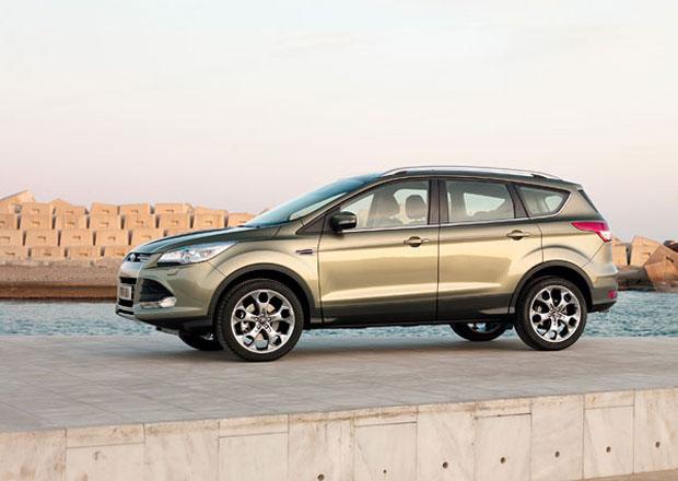 Ford Kuga: S parkovacími čidly a vyhřívaným čelním sklem jen za 530.000 Kč