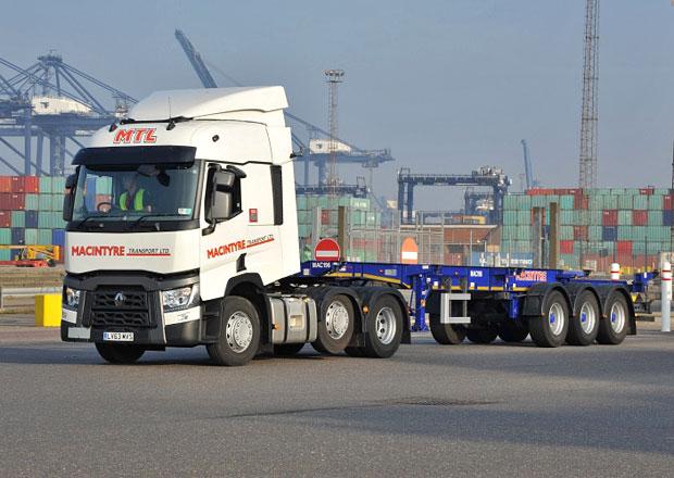 Renault Trucks řada T a doprava kontejnerů (+video)
