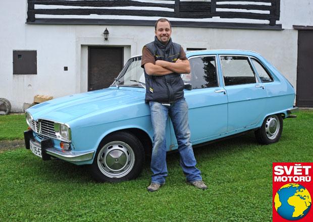 Renaulty jsou jeho vášní: Krásní časožrouti